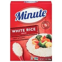 Minute Instant Rice, White, 14-Ounce (Pack of 12)