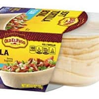 Old El Paso Soft Tortilla Bowl, Flour, 8 Count