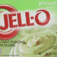 Jell-O Instant Pudding & Pie Filling, Pistachio, 3.4-Ounce Boxes (Pack of 4)