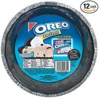 Oreo Pie Crust - Ready for Baking - Made with Real Cookies - 6 Ounce (Pack of 12)