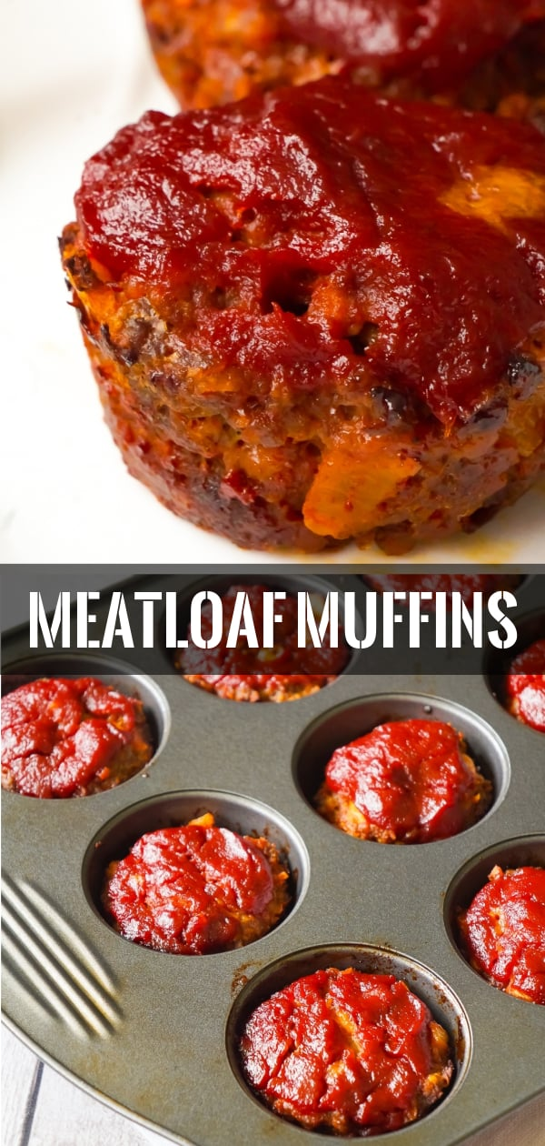 Meatloaf Muffins are a fun alternative to classic meatloaf. These tasty mini meatloaves are made with Lipton Onion Soup Mix and crushed Ritz Crackers.