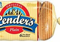 Lender's, Original Plain Bagel, 12 Ounce