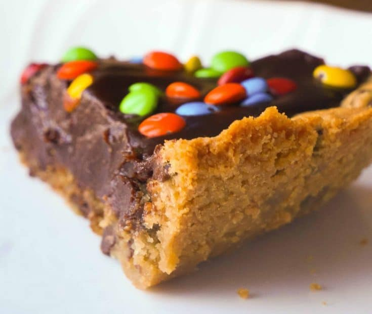 Chocolate Fudge Cookie Pie